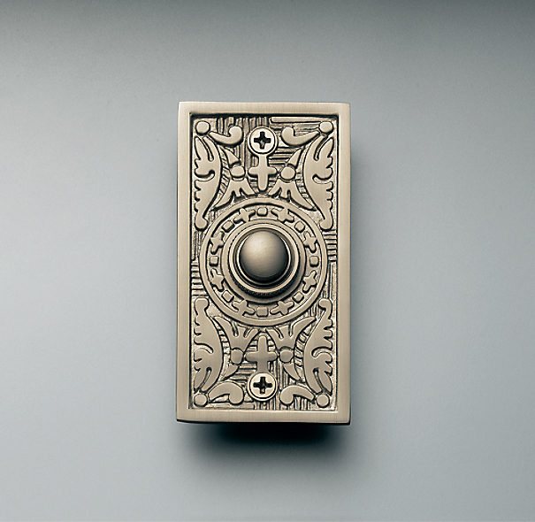 Rectangle Embossed Doorbell