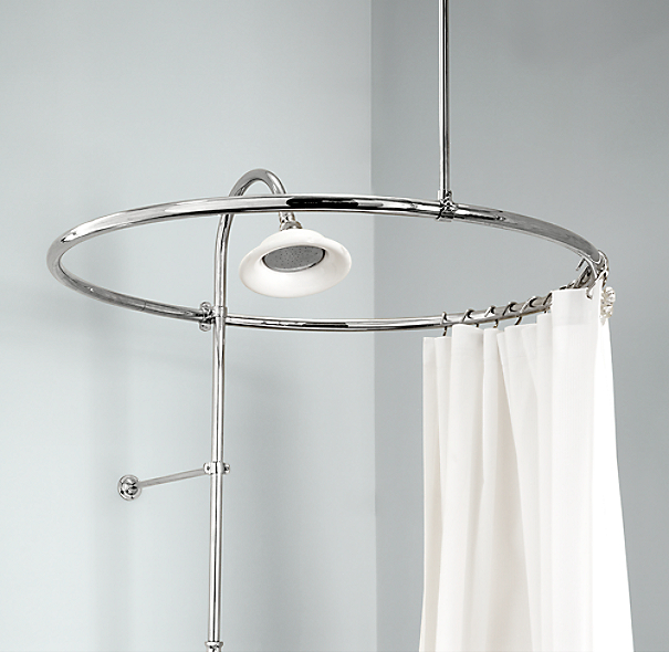 Round Shower Curtain Rod