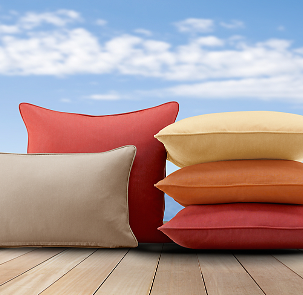 Sunbrella® Pillow Covers | Pillows | Restoration Hardware