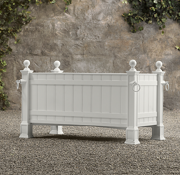 Versailles Panel Trough Planters