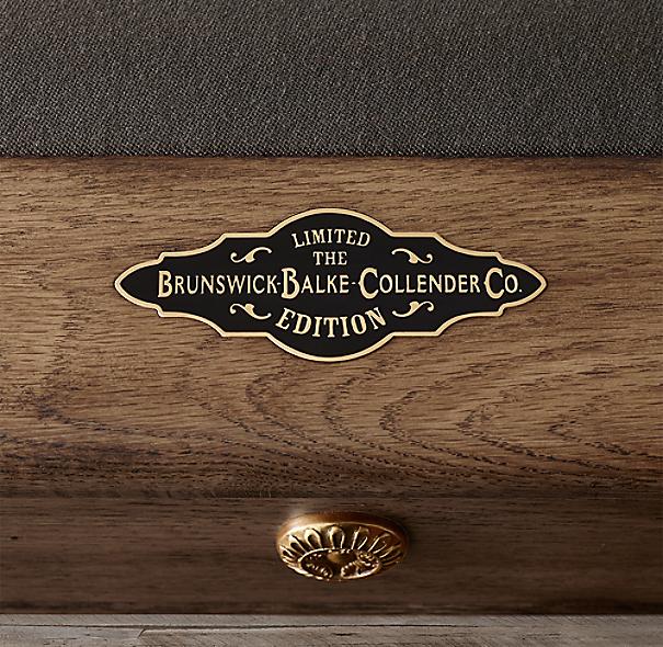 Restoration Hardware Warranty: Brunswick Vintage 1906 Billiards Table