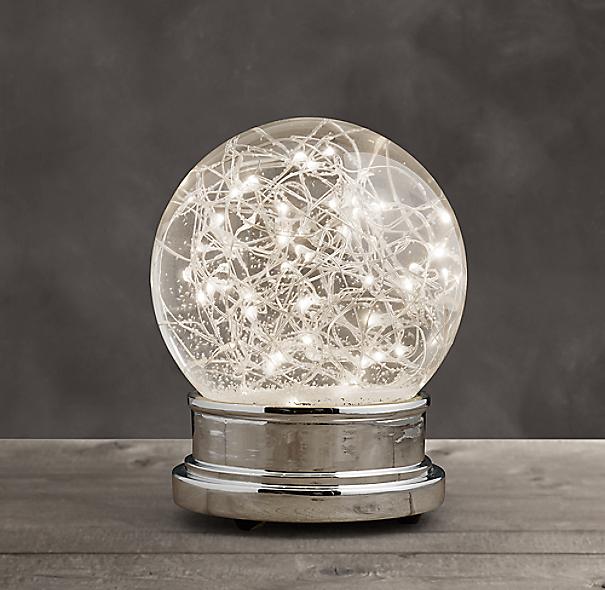 Starry Light Snow Globe Medium