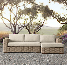 Rutherford Right-Arm Chaise Sectional Cushions