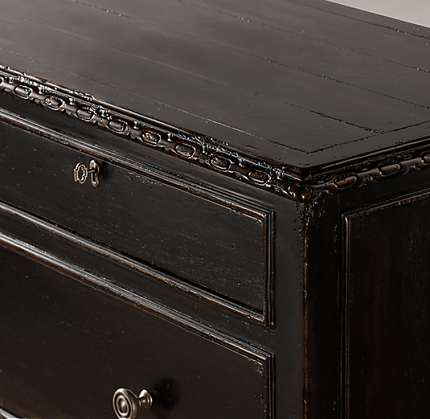 French Empire 5-Drawer Dresser