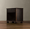 "32"" French Empire (Set of 2) Open Nightstand"