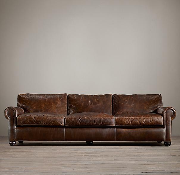 Original Lancaster Leather Sofa