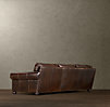 "112"" Lancaster Leather Sofa"