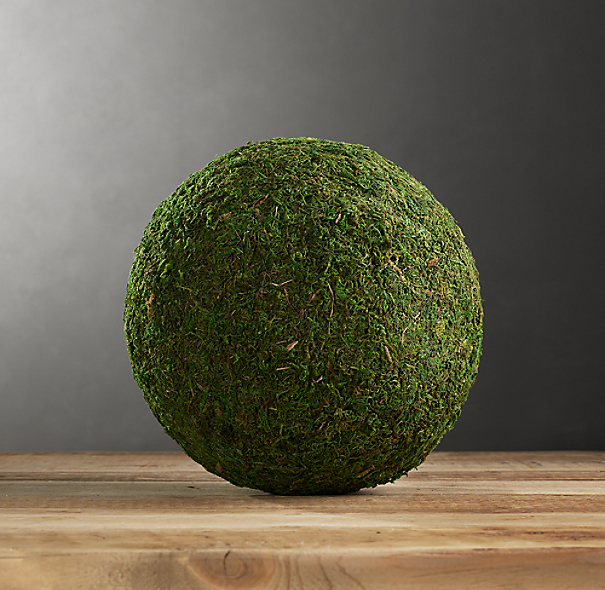 "Preserved Moss 10"" Sphere"