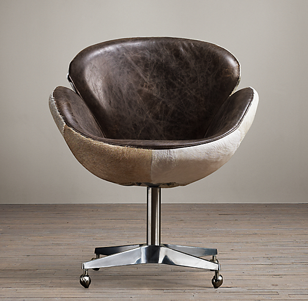 Devon Hair-on-Hide Back Chair