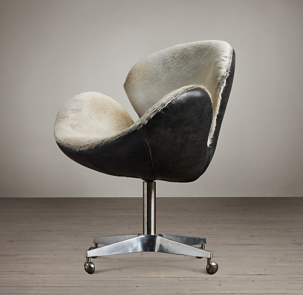 Devon Hair-on-Hide Front Chair