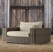 Majorca Luxe Chair-and-a-Half Cushion