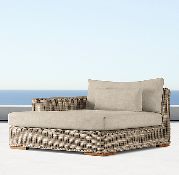 Majorca Luxe Left/Right Arm Chaise Cushion