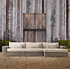 Majorca Luxe Right Arm Sofa Chaise Sectional Cushion