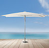 Tuuci® Ocean Master Rectangular Umbrella