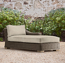 Provence Luxe Left/Right-Arm Chaise Cushion