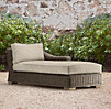 Provence Luxe Left/Right Arm Chaise Cushion