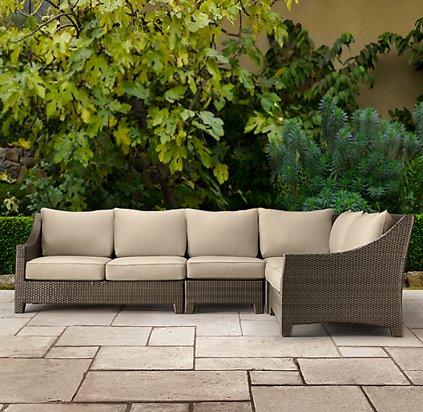 La Jolla L-Sectional Cushion Set