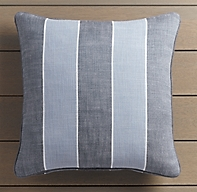Côte d'Azur Stripe Outdoor Pillow Covers