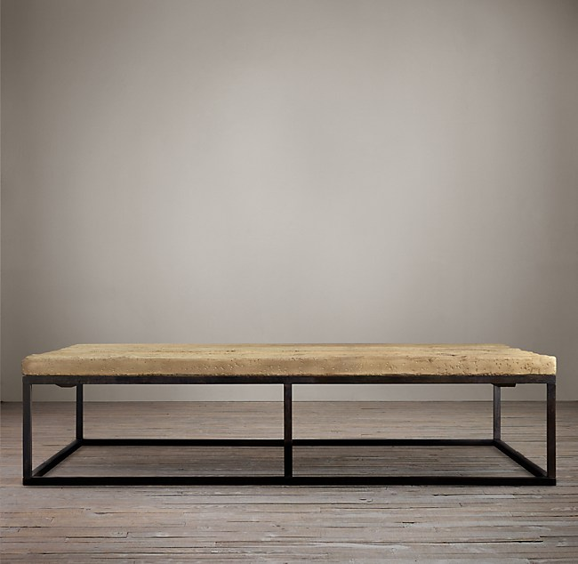 Reclaimed French Floorboard Coffee Tables
