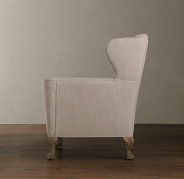 Clawfoot Wing Chair