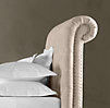 Chesterfield Upholstered Sleigh Bed