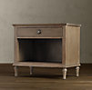 "32"" Maison Nightstand (Set of 1 Closed and 1 Open)"