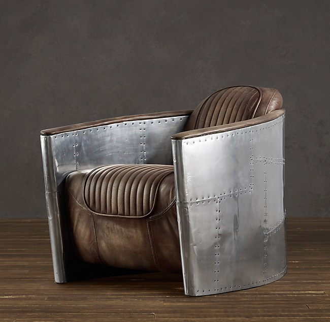 Aviator Chair Distressed Whiskey