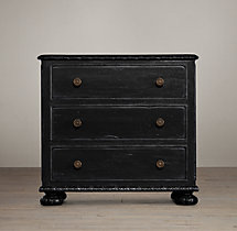 "32"" French Empire Closed Nightstand"
