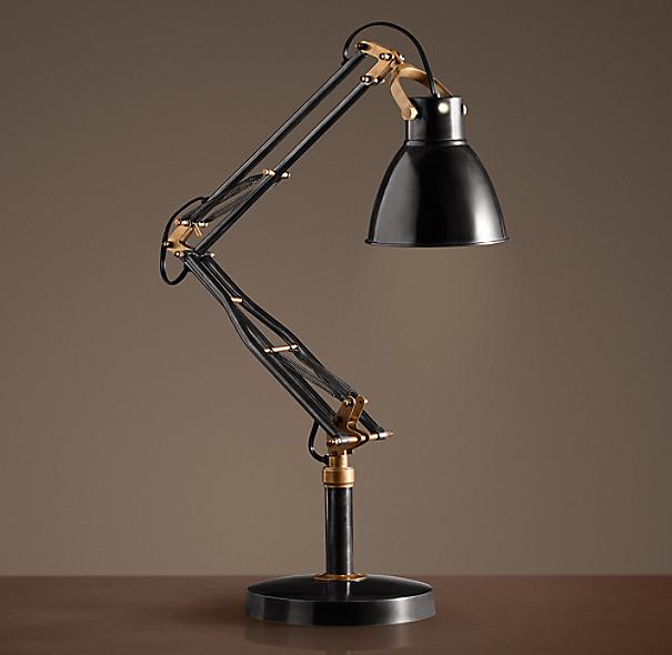 1930s studio task table lamp - Restoration hardware lamps table ...
