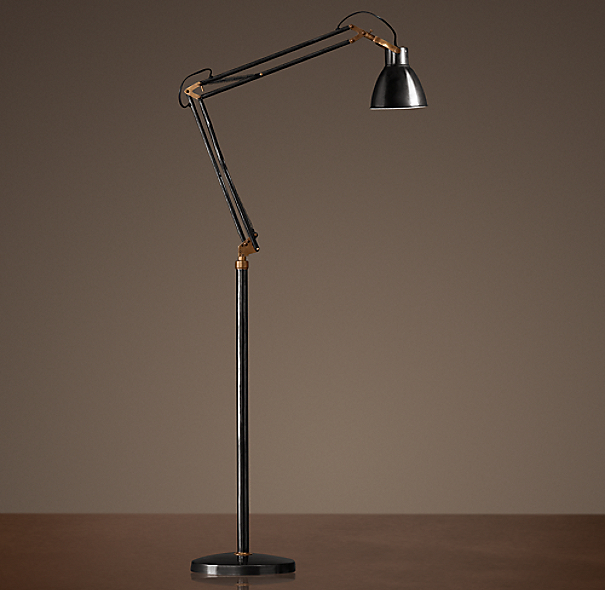 1930s Studio Task Floor Lamp