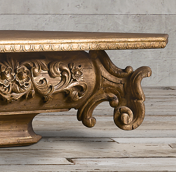 Baroque Capital Coffee Table