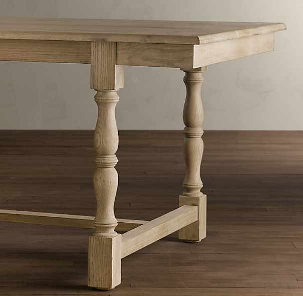 French Baluster Dining Table