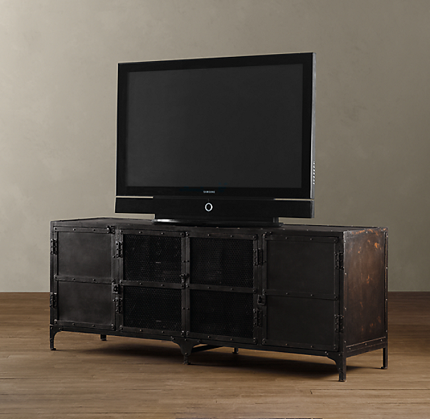 Industrial Tool Chest Media Console