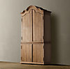 French Arch Pediment Armoire
