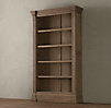 Fluted Column Bookcase