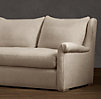 9' Belgian Wingback Upholstered Sofa