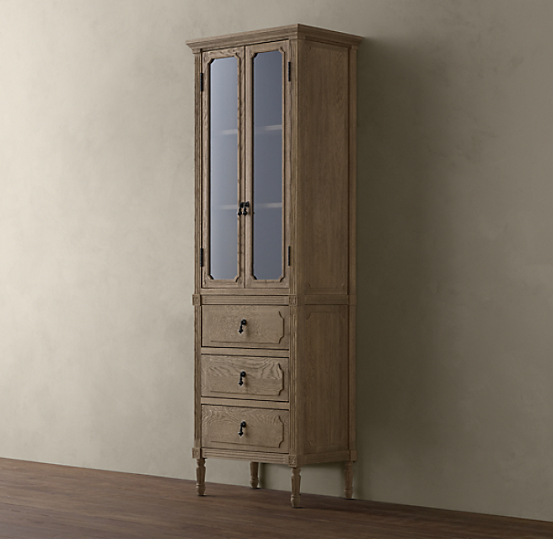 Louis XVI Medium Bath Cabinet
