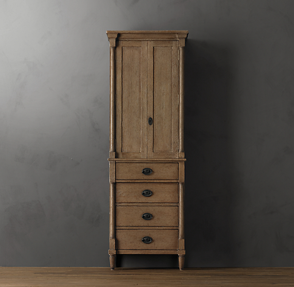Directoire Medium Bath Cabinet