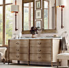Empire Rosette Double Vanity Sink