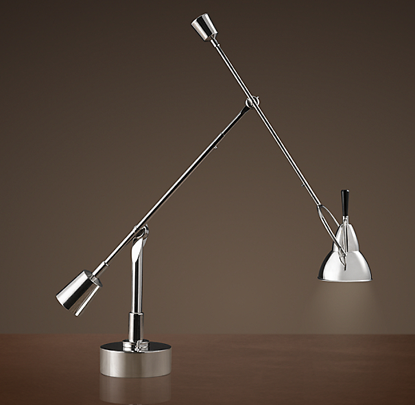 Counterpoise task table lamp - Restoration hardware lamps table ...