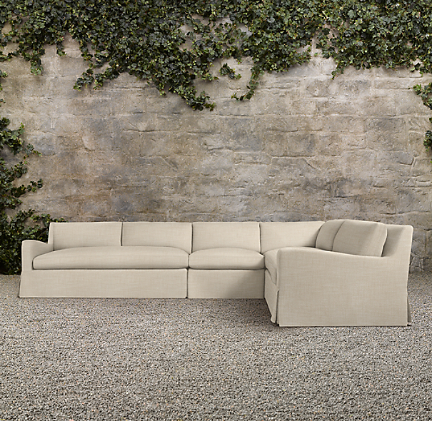 Belgian Slope Arm Outdoor Sectional