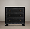 "32"" French Empire (Set of 1 Open and 1 Closed) Nightstands"