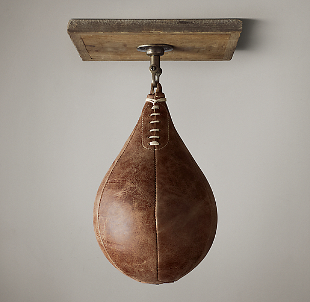 Vintage Leather Speed Bag