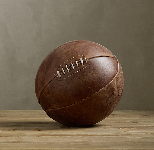 Vintage Leather Basketball