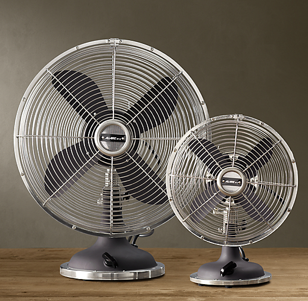 Allaire Desk Fan Grey