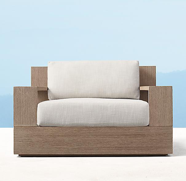 Marbella Teak Lounge Chair