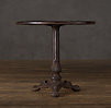 "30"" 19th C. French Acanthus Brasserie Table"
