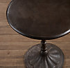 "23"" 20th C. Chrysanthemum Brasserie Table (Set of 2)"
