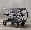 Industrial Scissor Lift Table Iron (Set of 2)