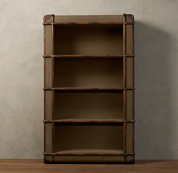 Richards' Canvas Bookcase